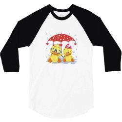 Duck Love 3/4 Sleeve Shirt | Artistshot