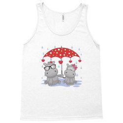 Hippopotamus Love Tank Top | Artistshot