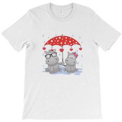 Hippopotamus Love T-Shirt | Artistshot