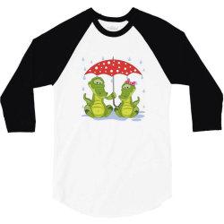 Crocodile Love 3/4 Sleeve Shirt | Artistshot