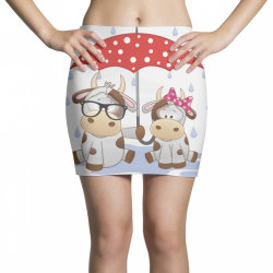 Cow Love Mini Skirts | Artistshot