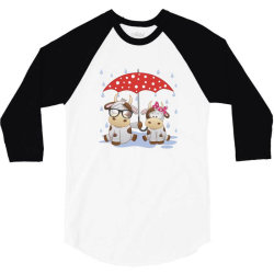 Cow Love 3/4 Sleeve Shirt | Artistshot