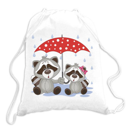 Coon Love Drawstring Bags Designed By Estore
