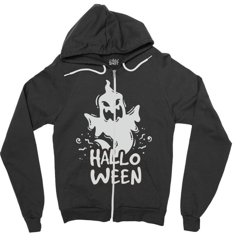 Halloween Zipper Hoodie | Artistshot