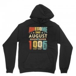 awesome since august 1996 shirt Unisex Hoodie | Artistshot