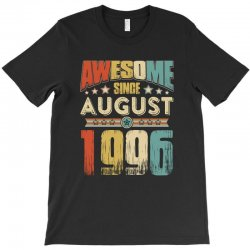 awesome since august 1996 shirt T-Shirt   Artistshot