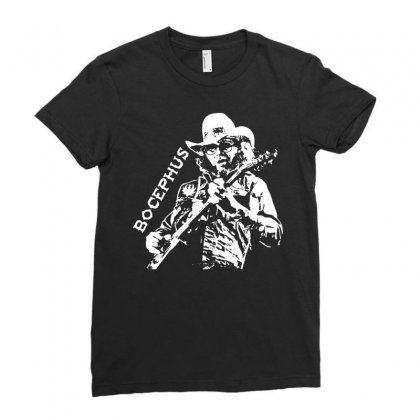 Hank Jr Bocephus Ladies Fitted T-shirt Designed By Teeshop