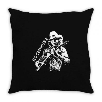 Hank Jr Bocephus Throw Pillow Designed By Teeshop