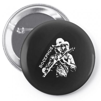Hank Jr Bocephus Pin-back Button Designed By Teeshop