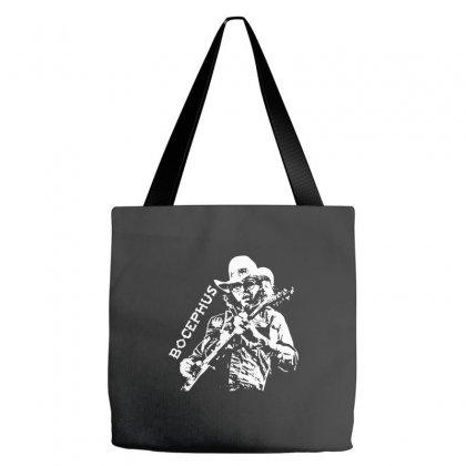 Hank Jr Bocephus Tote Bags Designed By Teeshop