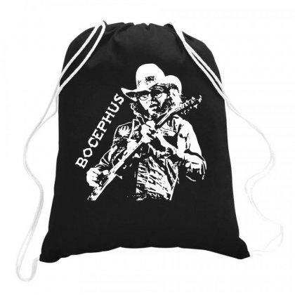 Hank Jr Bocephus Drawstring Bags Designed By Teeshop