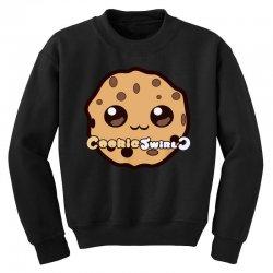 cookies swirl Youth Sweatshirt   Artistshot