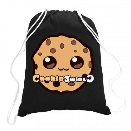 Cookies Swirl Drawstring Bags Designed By Batikmadrim Art