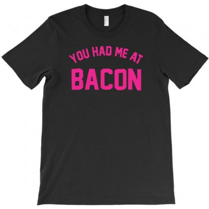 Bacon T-shirt Designed By K0d1r