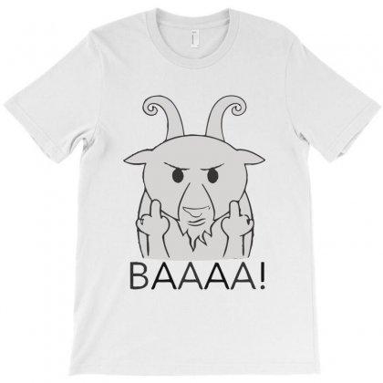 Goat T-shirt Designed By K0d1r
