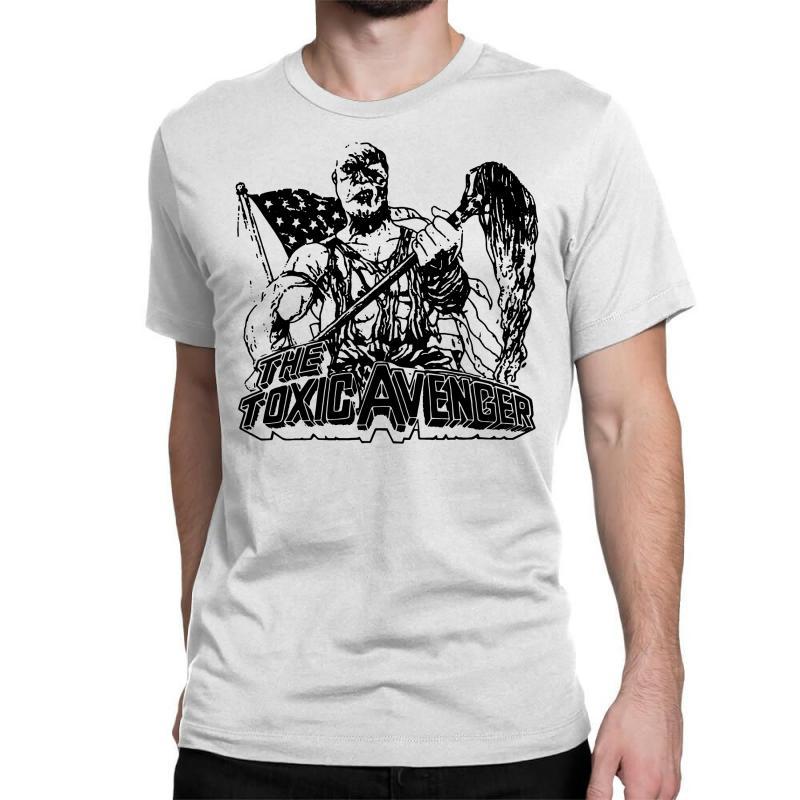 The Toxic Avenger Shirt Toxic Avenger Poster T Shirts Vintage 80s Horr Classic T-shirt | Artistshot