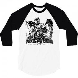 the toxic avenger shirt toxic avenger poster t shirts vintage 80s horr 3/4 Sleeve Shirt | Artistshot