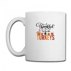 Thankful For My Little Turkeys For Light Coffee Mug Designed By Sengul