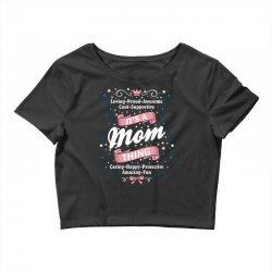 It's A Mom Thing Crop Top | Artistshot