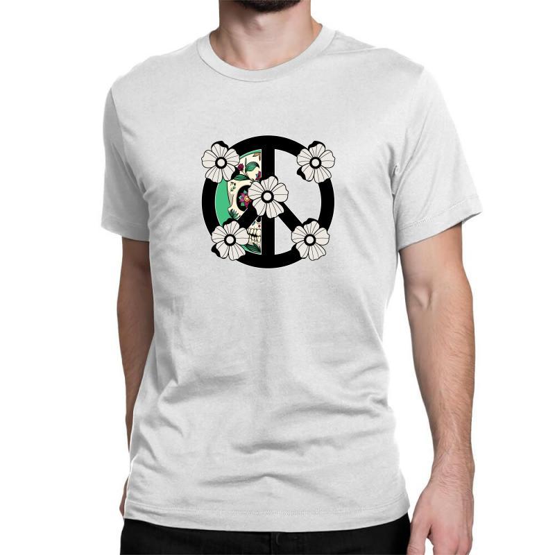 Peace Skull For Light Classic T-shirt | Artistshot