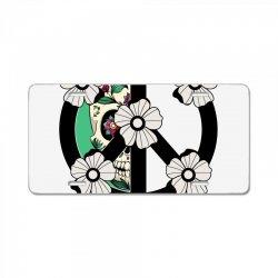 peace skull for light License Plate | Artistshot