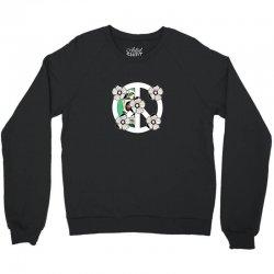 peace skull for dark Crewneck Sweatshirt | Artistshot