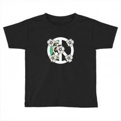 peace skull for dark Toddler T-shirt | Artistshot