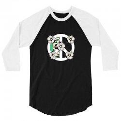 peace skull for dark 3/4 Sleeve Shirt | Artistshot