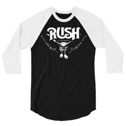 Rush T Shirt Vintage Band Shirts 3/4 Sleeve Shirt Designed By Teeshop