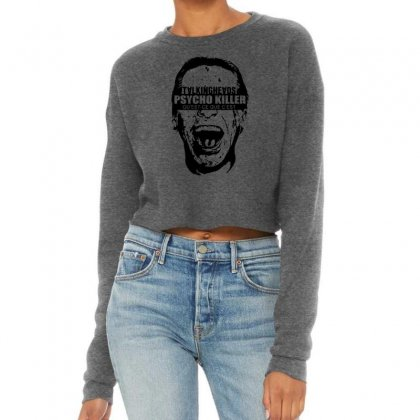 Talking Heads T Shirt American Psycho Killer 80s Vintage Rock Tees Cropped Sweater Designed By Teeshop