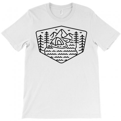 Wild Camping T-shirt Designed By Teeshop