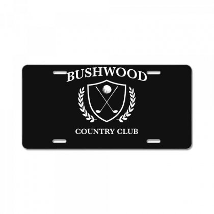 Bushwood Country Club   Funny Golf Golfing License Plate Designed By Teeshop