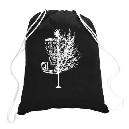 Disc Golf Basket Tree Shirts Funny Drawstring Bags Designed By Teeshop