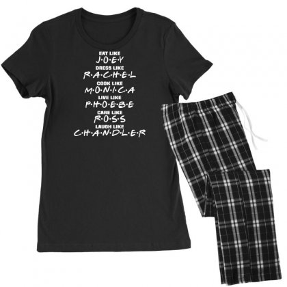 Friends Tv Show Sitcom Women's Pajamas Set Designed By Rendi
