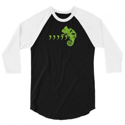 Comma Chameleon 3/4 Sleeve Shirt Designed By Rendi