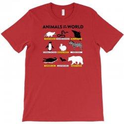 animals of the world T-Shirt   Artistshot