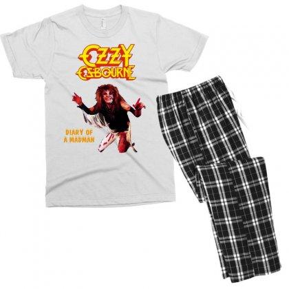 Ozzy Osbourne Diary Of A Madman Men's T-shirt Pajama Set Designed By L4l4pow