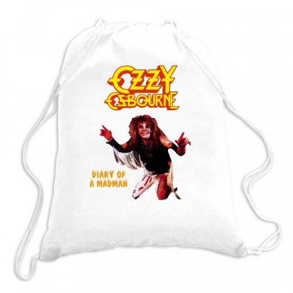 Ozzy Osbourne Diary Of A Madman Drawstring Bags Designed By L4l4pow