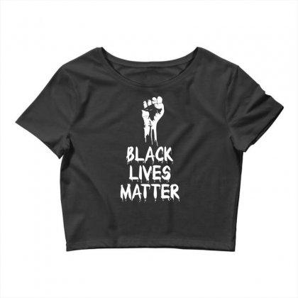 Black Lives Matter Crop Top Designed By Tshiart