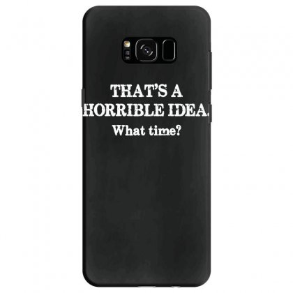 That's A Horrible Idea. What Time Samsung Galaxy S8 Case Designed By G3ry