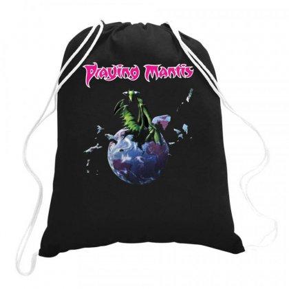 Praying Mantis Drawstring Bags Designed By L4l4pow