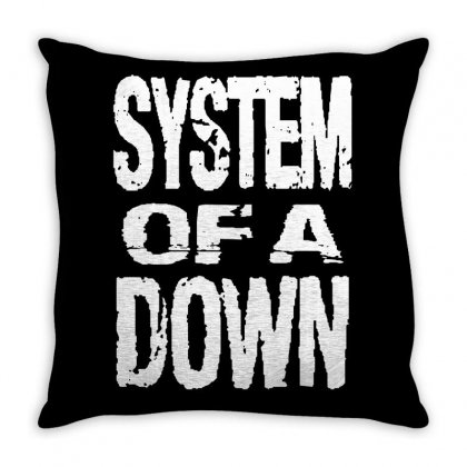 System Of A Down Soad Throw Pillow Designed By Mdk Art