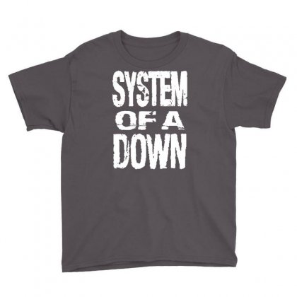 System Of A Down Soad Youth Tee Designed By Mdk Art