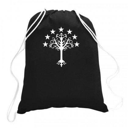 Tree Of Gondor Drawstring Bags Designed By Rendi