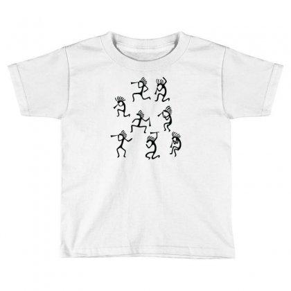 Kokopelli Toddler T-shirt Designed By Rendi