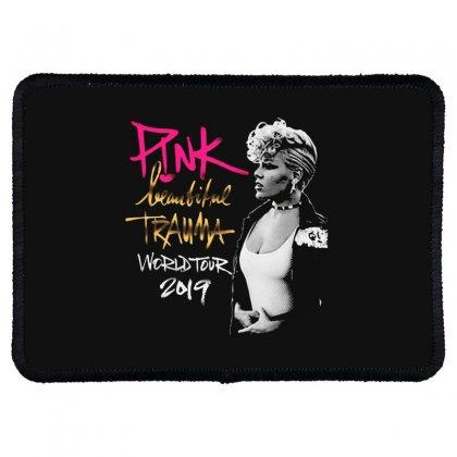 Pink Beautiful Trauma World Tour Rectangle Patch