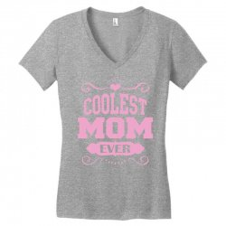 Coolest Mom Ever Women's V-Neck T-Shirt | Artistshot