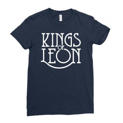 Kings Of Leon Ladies Fitted T-shirt Designed By Mdk Art