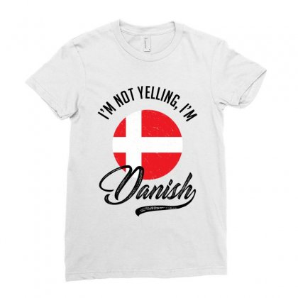 Danish Ladies Fitted T-shirt Designed By Ale Ceconello