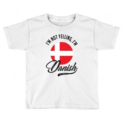 Danish Toddler T-shirt Designed By Ale Ceconello